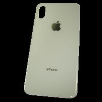 Стекло задней крышки iPhone XS белое (оригинал)