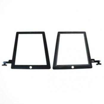 Сенсорный экран iPad 2 черный (оригинальные комплектующие)