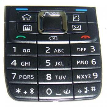 Клавиатура Nokia E51 черная