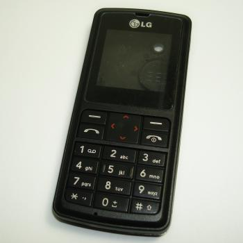 Корпус LG KG270 черный