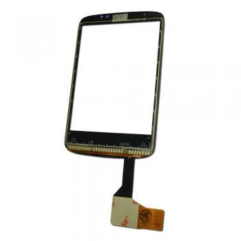 Сенсорный экран HTC Wildfire A3333 черный, с микросхемой