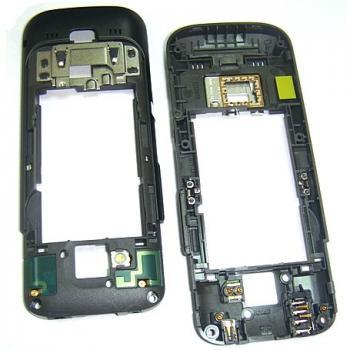 Средняя часть корпуса Nokia C5 черная