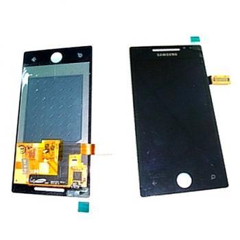 Дисплей Samsung i8700 Omnia 7 с сенсором, черный (оригинал)