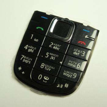 Клавиатура Nokia 3120cl черная (рус/англ)