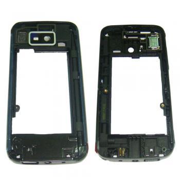 Средняя часть корпуса Nokia 5530 черная (оригинал 100%)