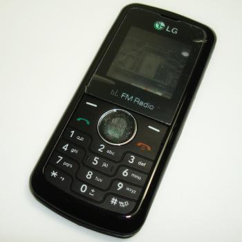 Корпус LG KP105 черный