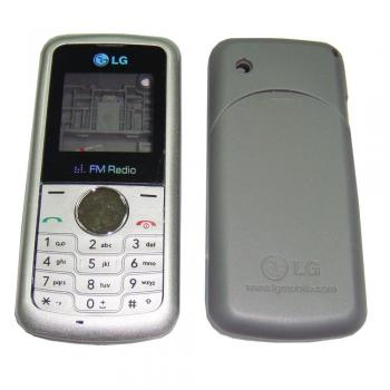Корпус LG KP105 серебристый, в комплекте клавиатура