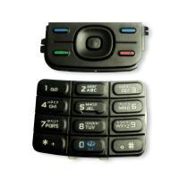 Клавиатура Nokia 5200 5300 черная (рус/англ)