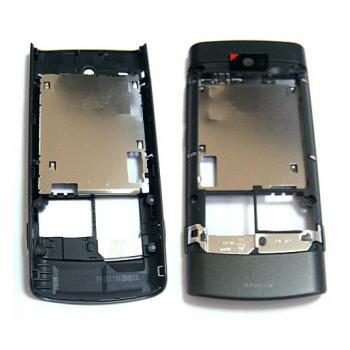 Средняя часть корпуса Nokia X3-02 черная