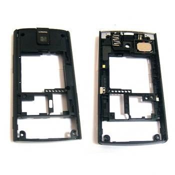 Средняя часть корпуса Nokia X3 черная