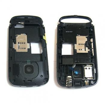 Средняя часть корпуса Nokia C2-02 черная
