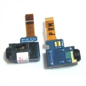 Шлейф Samsung P7100 + разъем под наушники