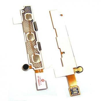 Шлейф Samsung i8910 Omnia HD + клавиатурный модуль и микрофон