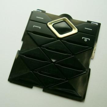 Клавиатура Nokia 7900 черная (рус/англ)