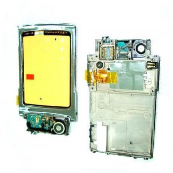 Клавиатурная плата Nokia N76 в комплекте вибро, микрофон и разъем под камеру (оригинал 100%)