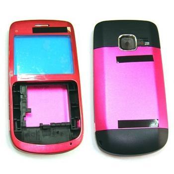 Корпус Nokia C3 розовый