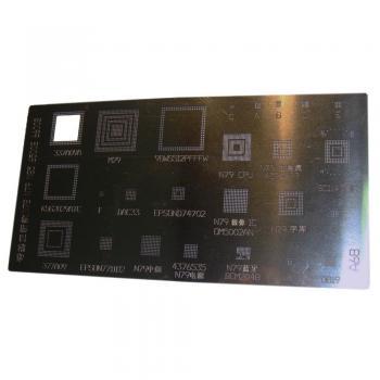 Трафарет BGA (A68) Nokia N78 N79 N85 6500sl 6600sl 6730 E72