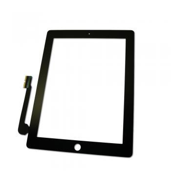 Сенсорный экран iPad 3 iPad 4 черный (оригинальные комплектующие)