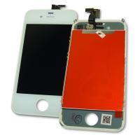 Дисплей iPhone 4S с сенсором и рамкой, белый (копия AAA)