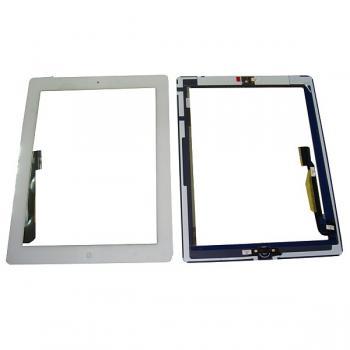 Сенсорный экран iPad 3 белый + шлейф и кнопка HOME (оригинальные комплектующие)