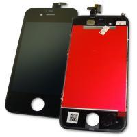 Дисплей iPhone 4 с сенсором и рамкой, черный (копия AAA)