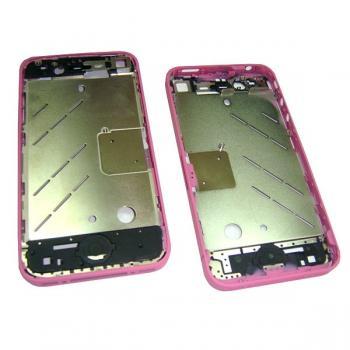 Средняя часть корпуса iPhone 4 розовая