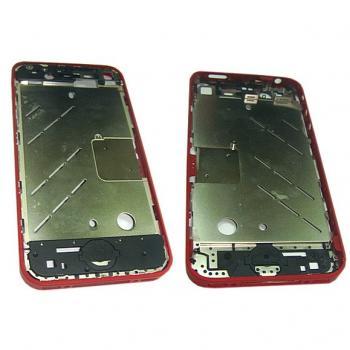 Средняя часть корпуса iPhone 4 красная + боковые кнопки