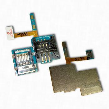 Шлейф Samsung S5690 Galaxy Xcover + разъёмы для SIM и карты памяти