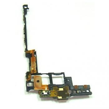 Шлейф Sony MT27i Xperia Sola с кнопками прокрутки