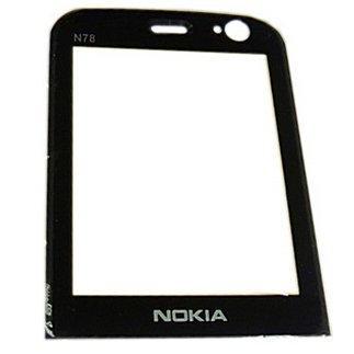 Стекло Nokia N78 черное