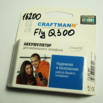 Аккумуляторная батарея Fly Q300 CRAFTMANN (850mAh)