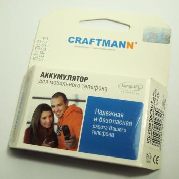 Аккумуляторная батарея HTC P3450 Touch Elf CRAFTMANN (1100mAh)