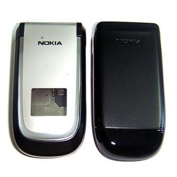 Корпус Nokia 2660 черный с серебристым