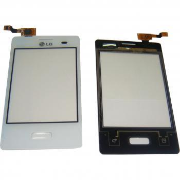 Сенсорный экран LG E400 Optimus L3 белый (оригинал Китай)