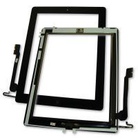Сенсорный экран iPad 4 черный + шлейф кнопки HOME (оригинальные комплектующие)