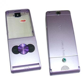 Корпус Sony Ericsson W350 фиолетовый