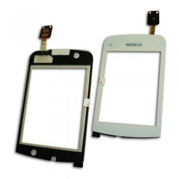 Сенсорный экран Nokia C2-02 C2-03 C2-06 белый (копия)