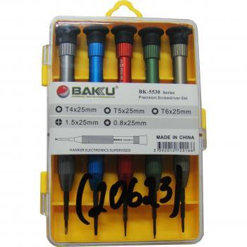 Набор отверток BAKKU BK-5530 (5 шт)