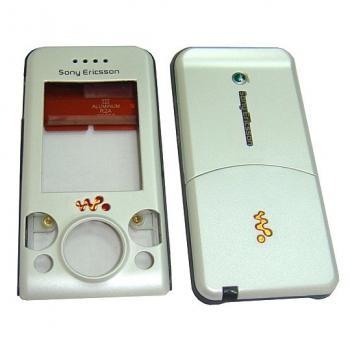Корпус Sony Ericsson W580 белый