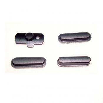 Набор внешних кнопок iPad Mini / Mini 2 / Air - черный (оригинал)