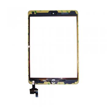 Сенсорный экран iPad Mini белый + шлейф с кнопкой HOME (оригинальные комплектующие)