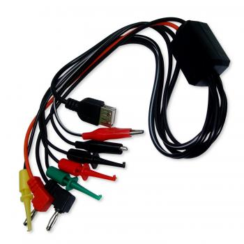 Шнур с набором щупов для блока питания и USB разъемом