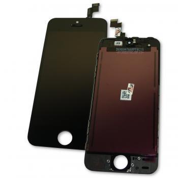 Дисплей iPhone 5S / SE с сенсором и рамкой, черный (оригинал)