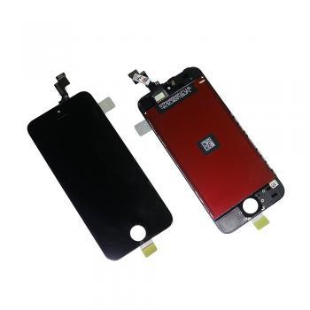 Дисплей iPhone 5S / SE с сенсором и рамкой, черный (оригинальная матрица)