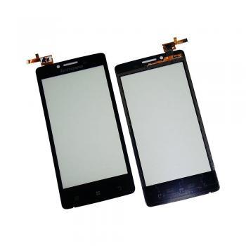 Сенсорный экран Lenovo A765e черный