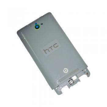Задняя крышка корпуса HTC Windows Phone 8S A620e серебристая (оригинал 100%)