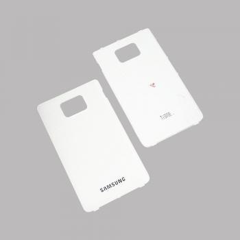 Задняя крышка корпуса Samsung i9105 Galaxy S2 Plus белая (оригинал 100%)