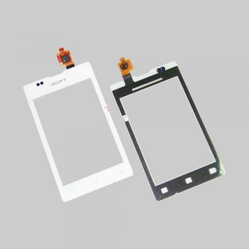 Сенсорный экран Sony C1503 C1504 C1505 Xperia E белый (оригинал Китай)