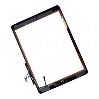 Сенсорный экран iPad Air белый + шлейф кнопки HOME (оригинальные комплектующие)