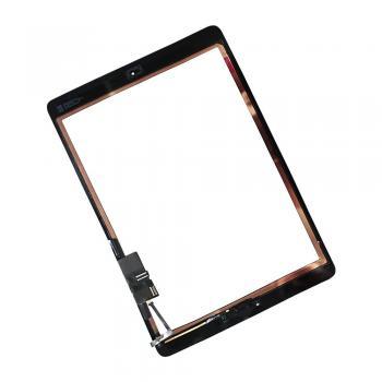 Сенсорный экран iPad Air черный + шлейф кнопки HOME (копия)